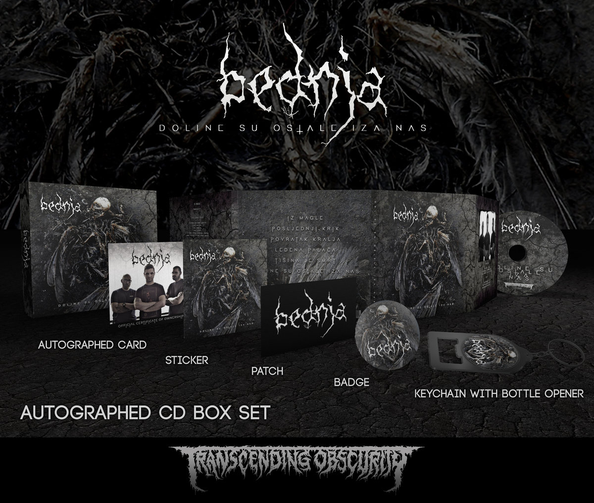 BEDNJA Autographed CD Box Set (Limited to 100)