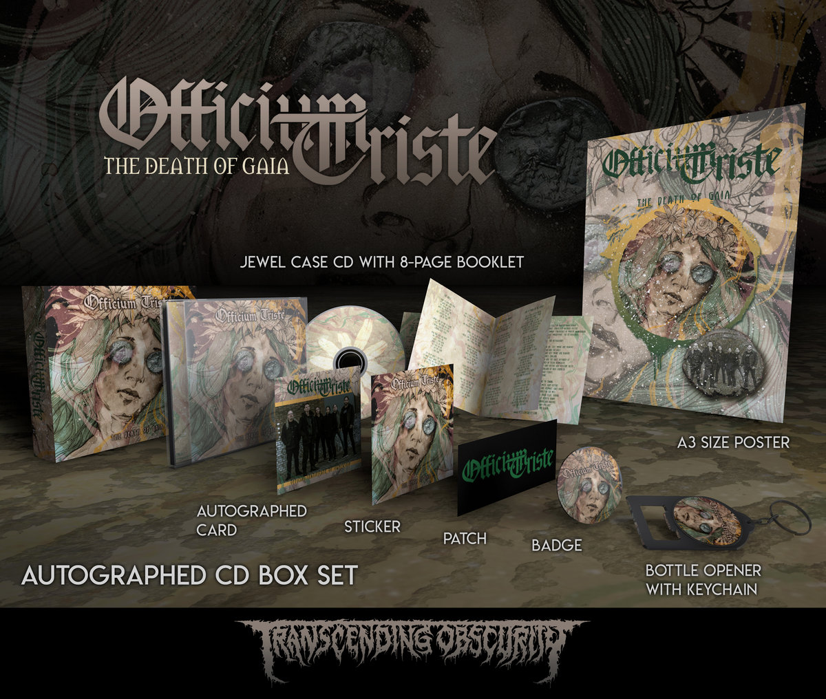 OFFICIUM TRISTE Autographed CD Box Set (Limited to 150)