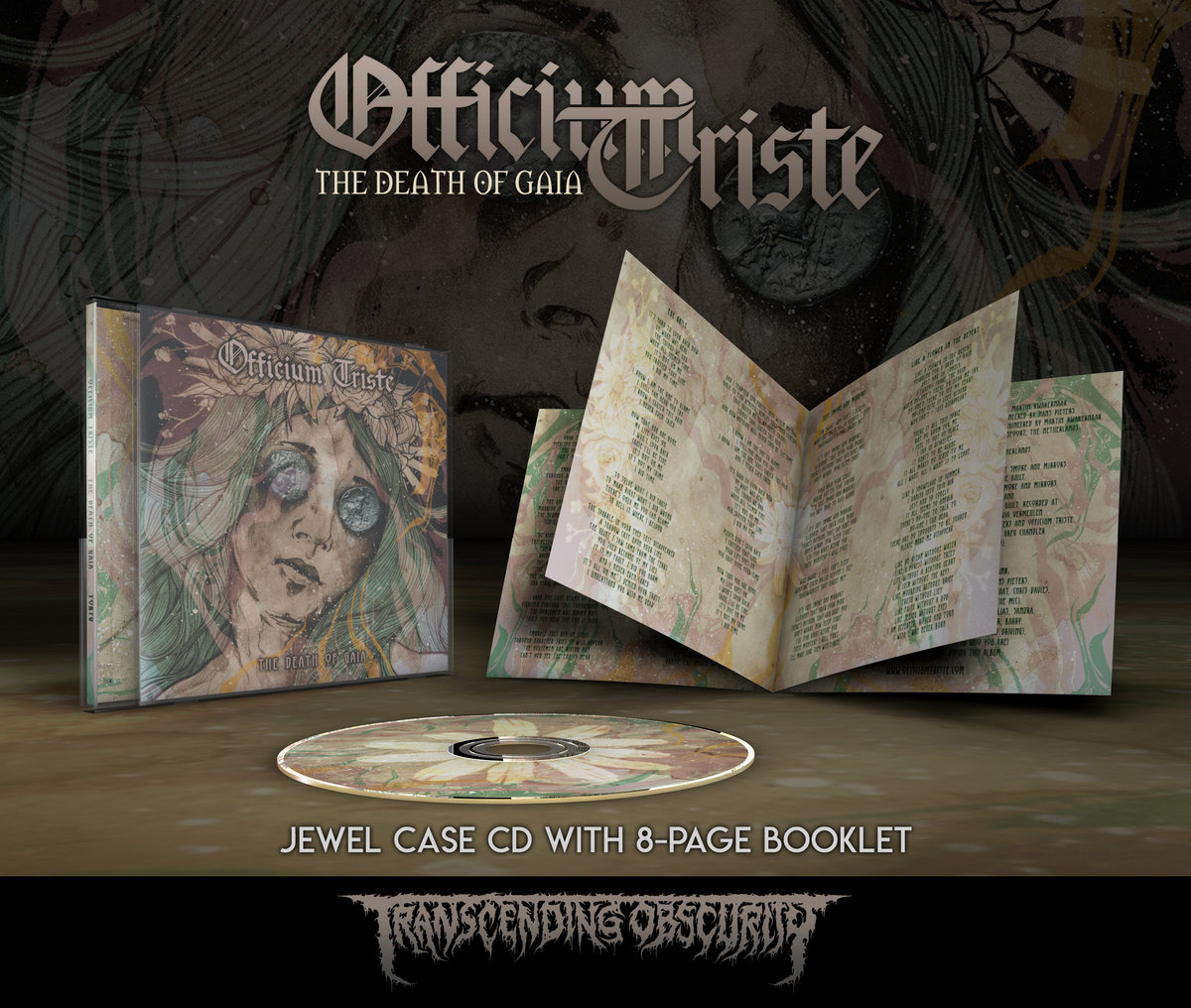 OFFICIUM TRISTE Jewel Case CD with 8-Page Booklet (SHIPPING IMMEDIATELY!)