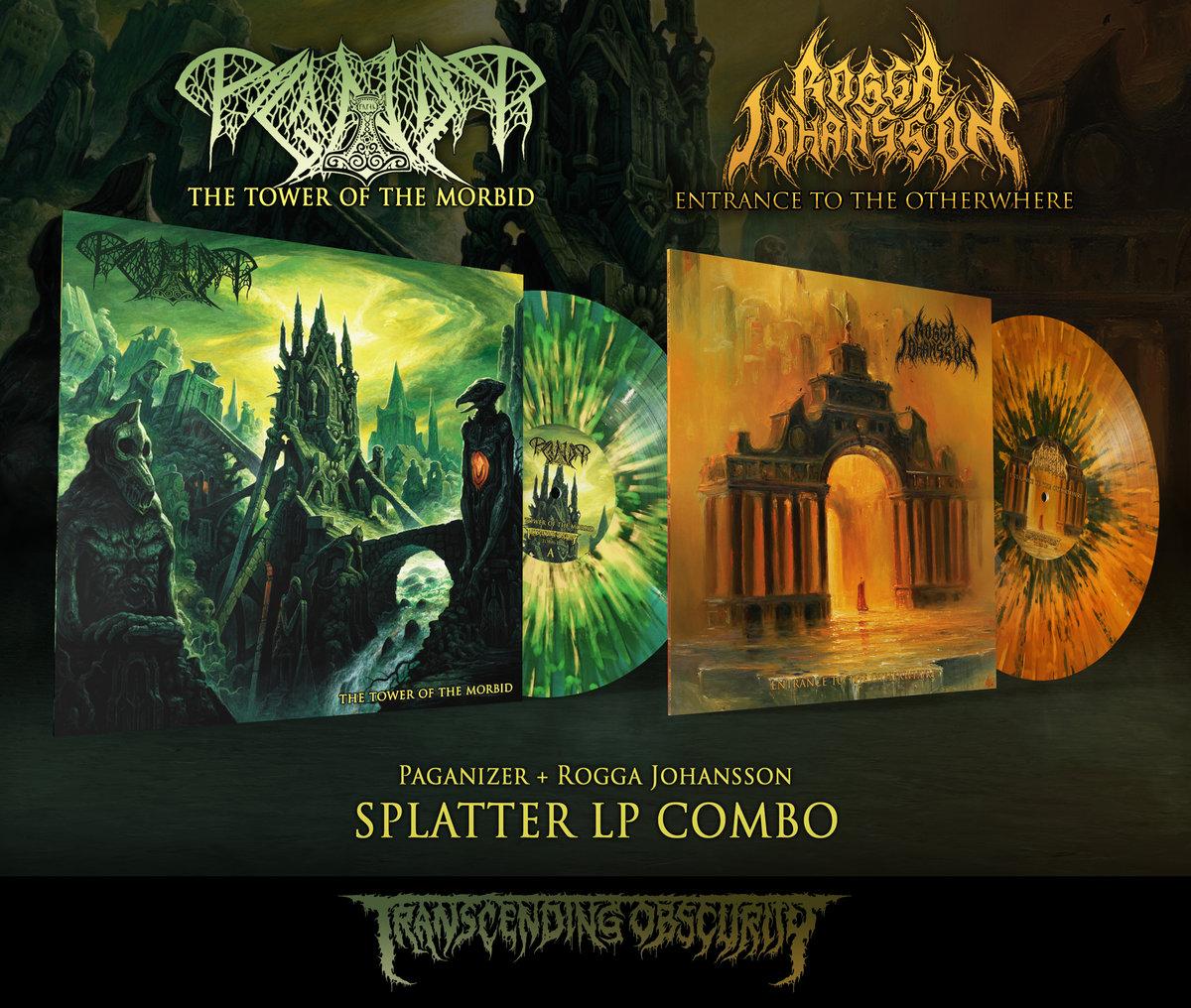PAGANIZER + ROGGA JOHANSSON Splatter LP Combo (Limited to 20)