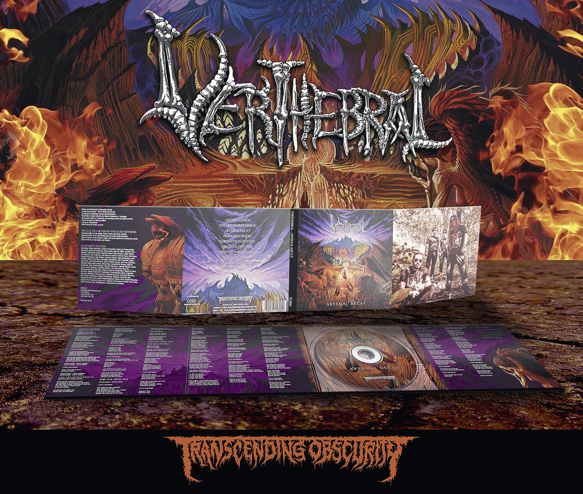 VERTHEBRAL (Paraguay) - Abysmal Decay Digipak CD
