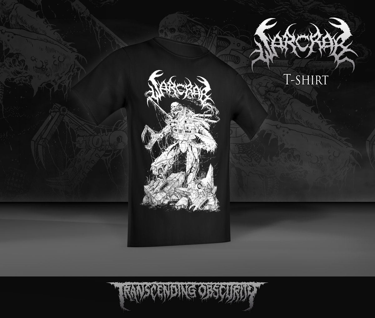 WARCRAB T-shirt with Mark Riddick artwork (Limited to 25)