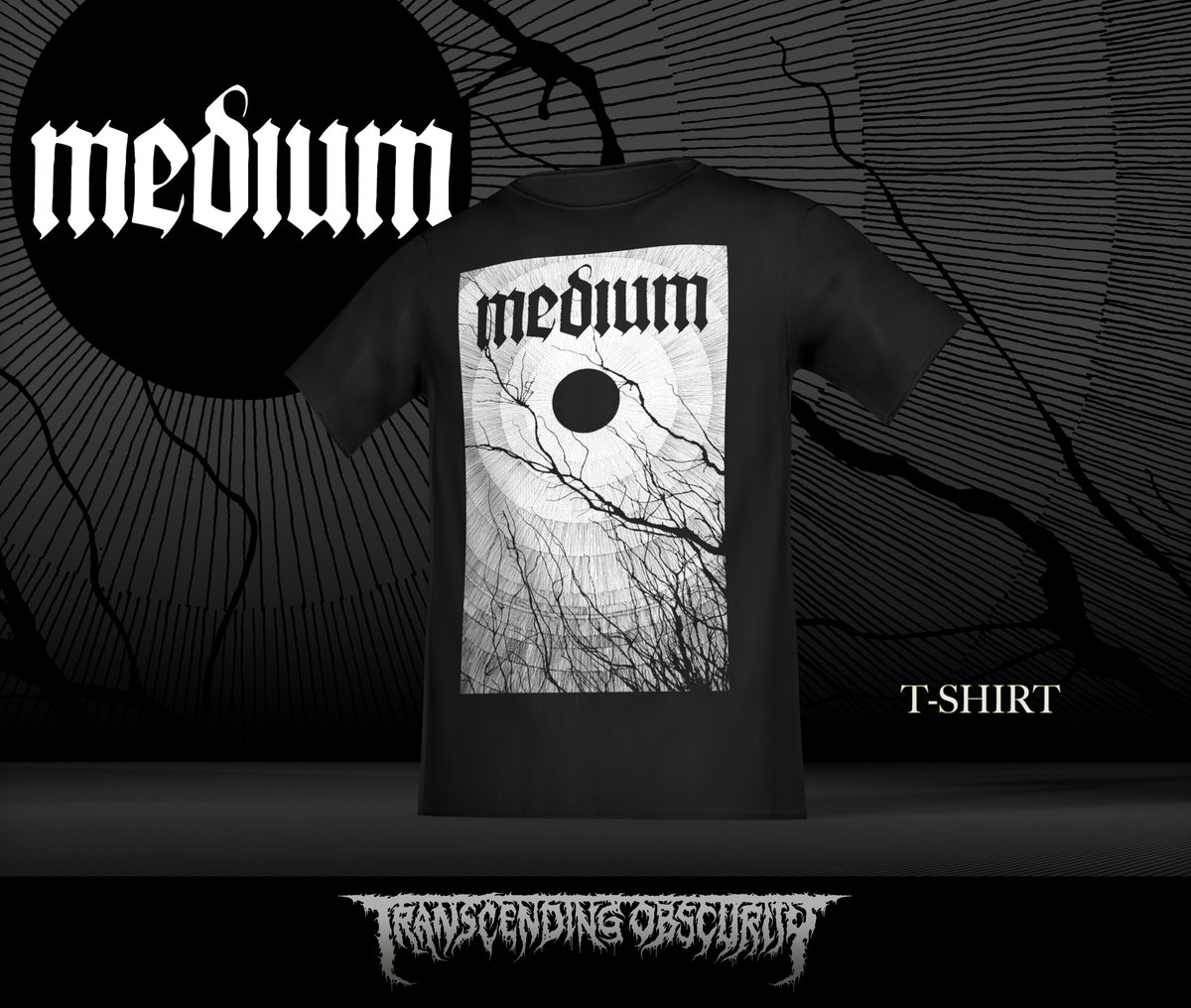 MEDIUM Album Artwork T-shirt (Limited to 20)