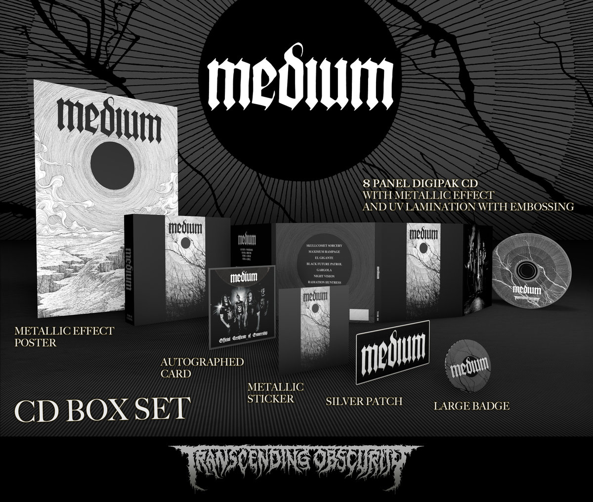 MEDIUM Autographed CD Box Set (Limited to 50)
