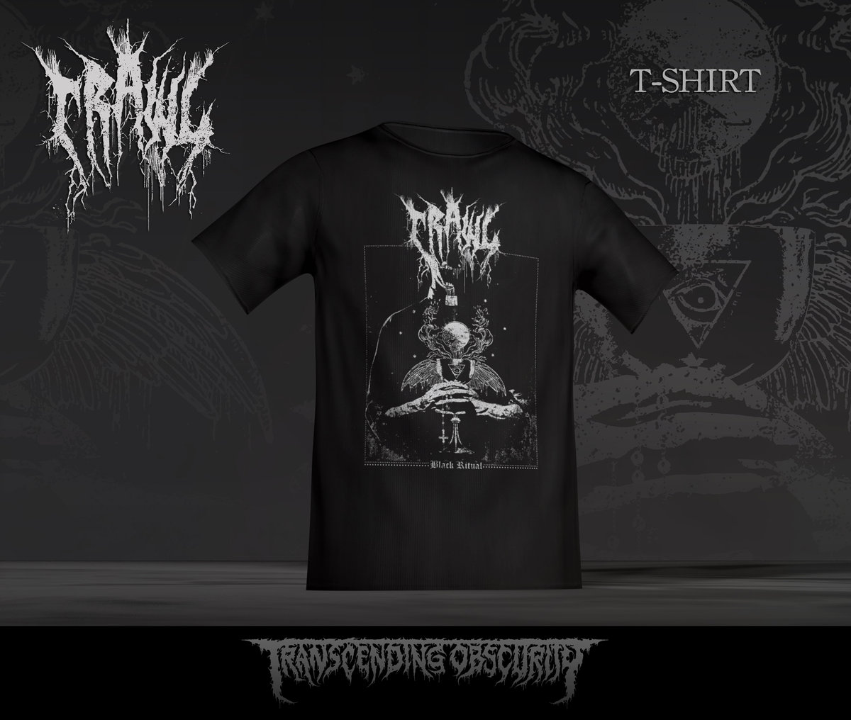 CRAWL - Death To Chvrch T-shirt (Limited to 25)