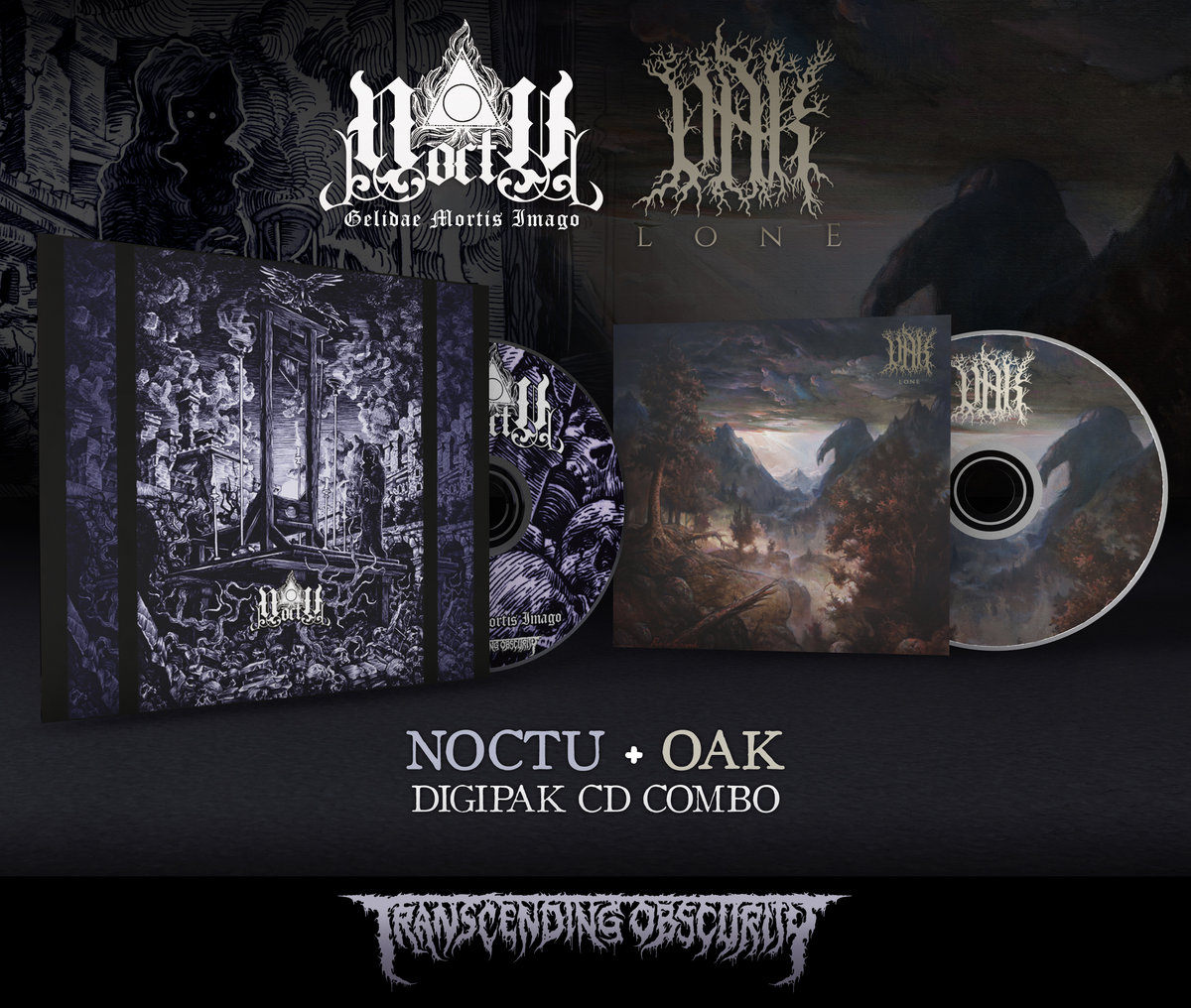 NOCTU + OAK 8-Panel Digipak CD Combo