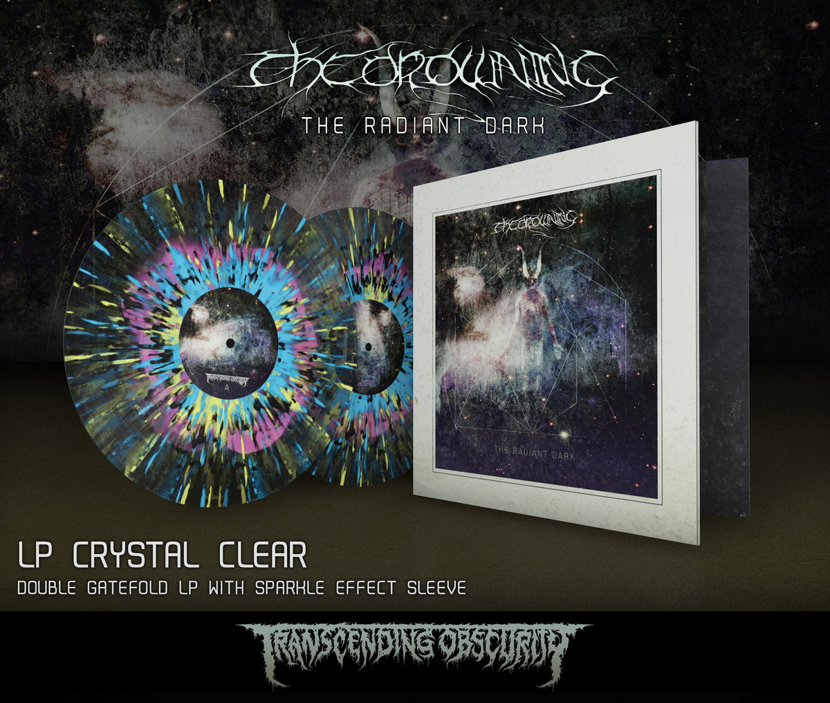THE DROWNING Gatefold Double LPs with Sparkle Effect Sleeves (Limited to 100)