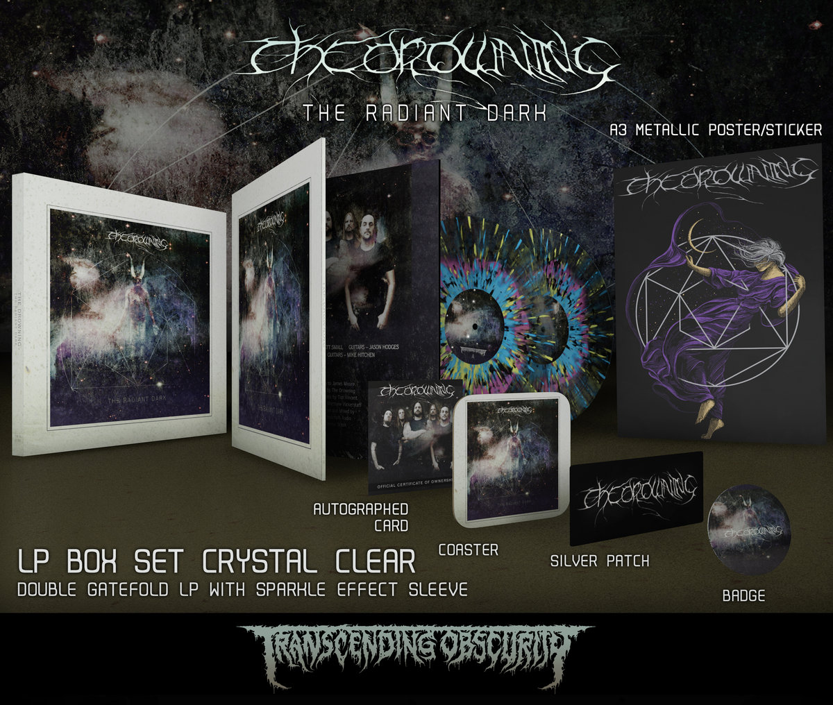 THE DROWNING Autographed Gatefold Double LP Box Sets (Limited to 15)