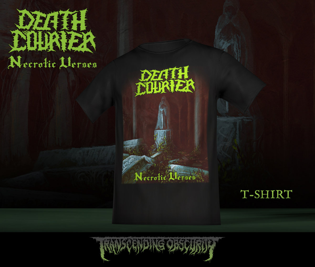DEATH COURIER Album Artwork T-shirt (Limited to 30 nos.)