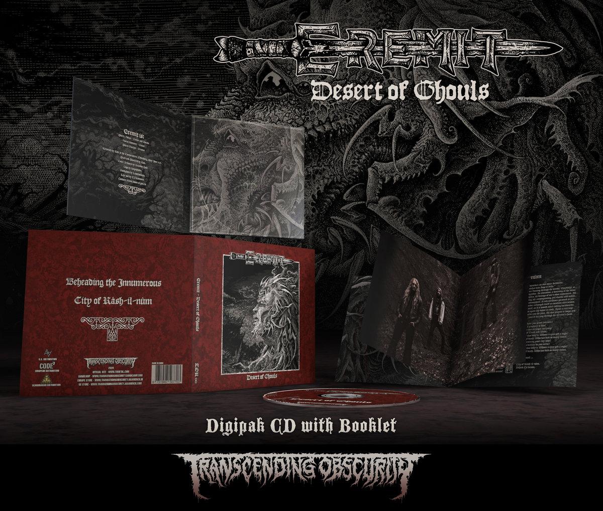 EREMIT - Desert of Ghouls Digipak CD with embossing/UV lamination + Booklet