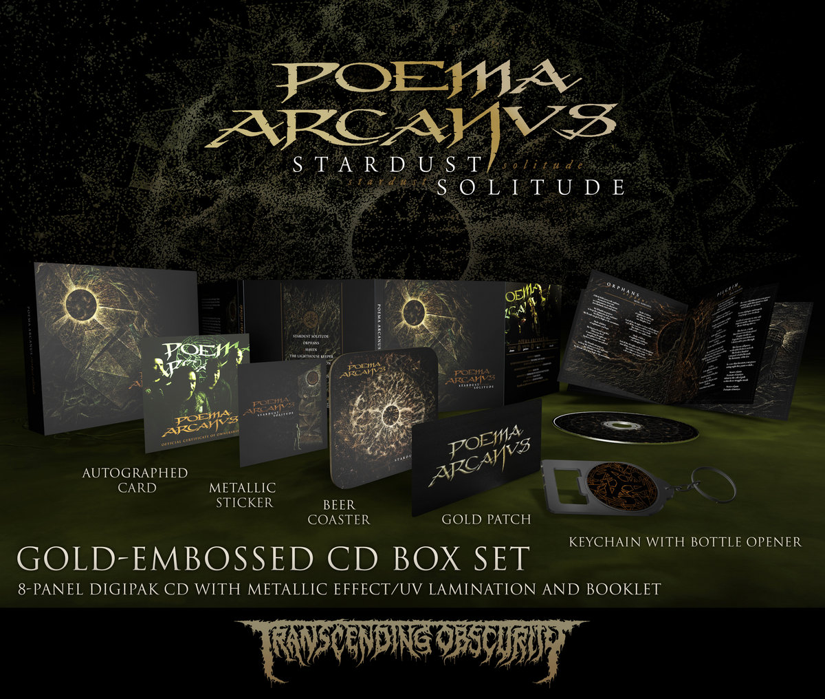 POEMA ARCANVS - Autographed Gold-embossed CD Box Set (Limited to 100)