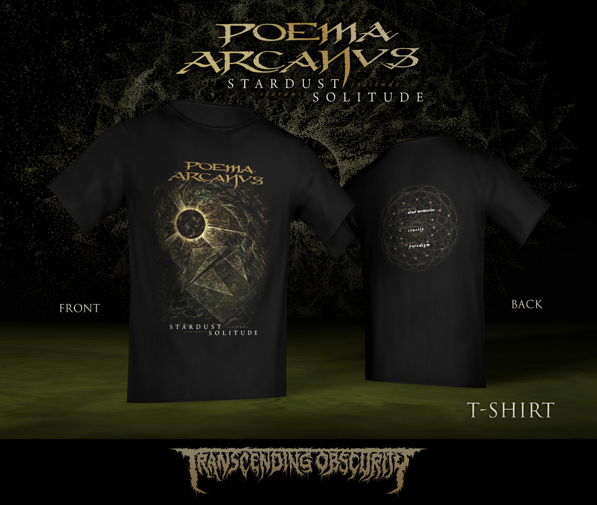 POEMA ARCANVS - Album Artwork T-shirt (Limited to 30 nos.)