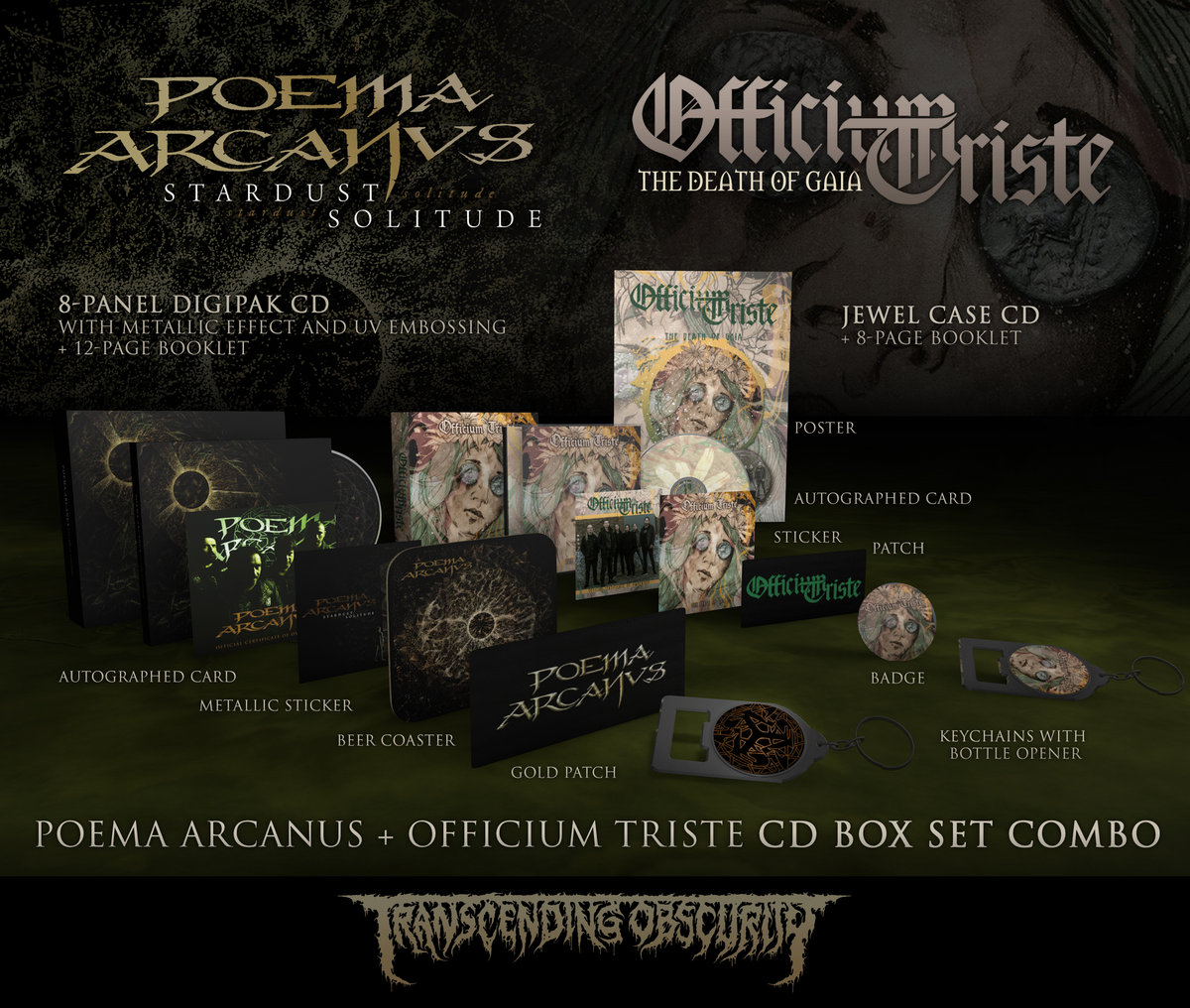 POEMA ARCANVS + OFFICIUM TRISTE Autographed Box Set Combo