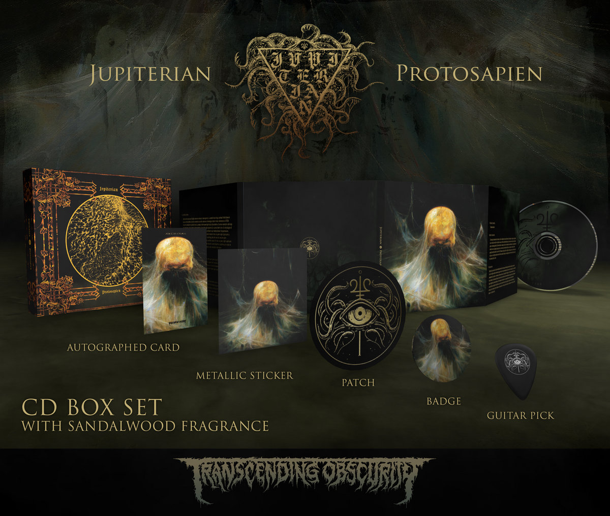 JUPITERIAN - Protosapien Autographed CD Box Set (Limited to 175)