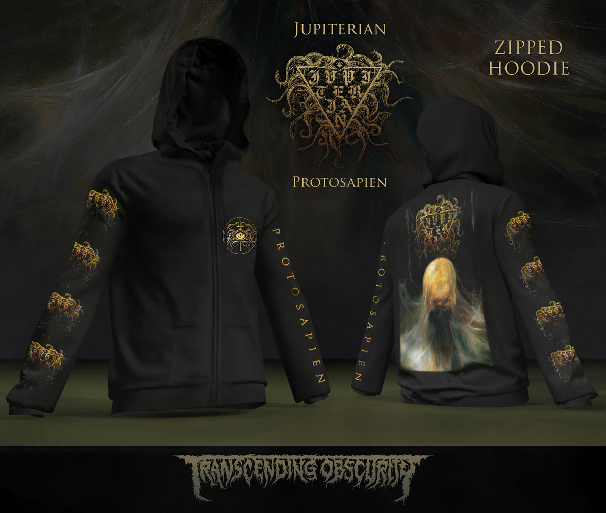 JUPITERIAN - Protosapien Zipped Hoodie (Limited to 50)