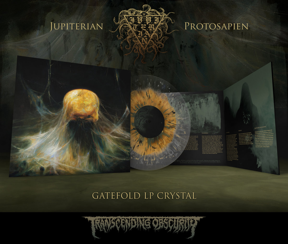 JUPITERIAN - Protosapien Gatefold LP with Sandalwood Fragrance (Crystal Variant)