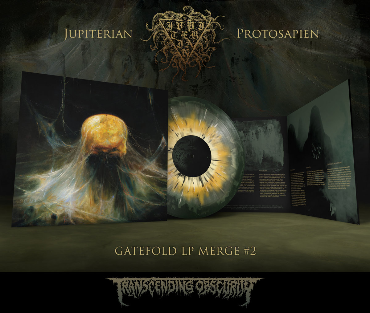 JUPITERIAN - Protosapien Gatefold LP with Sandalwood Fragrance (Merge #2)