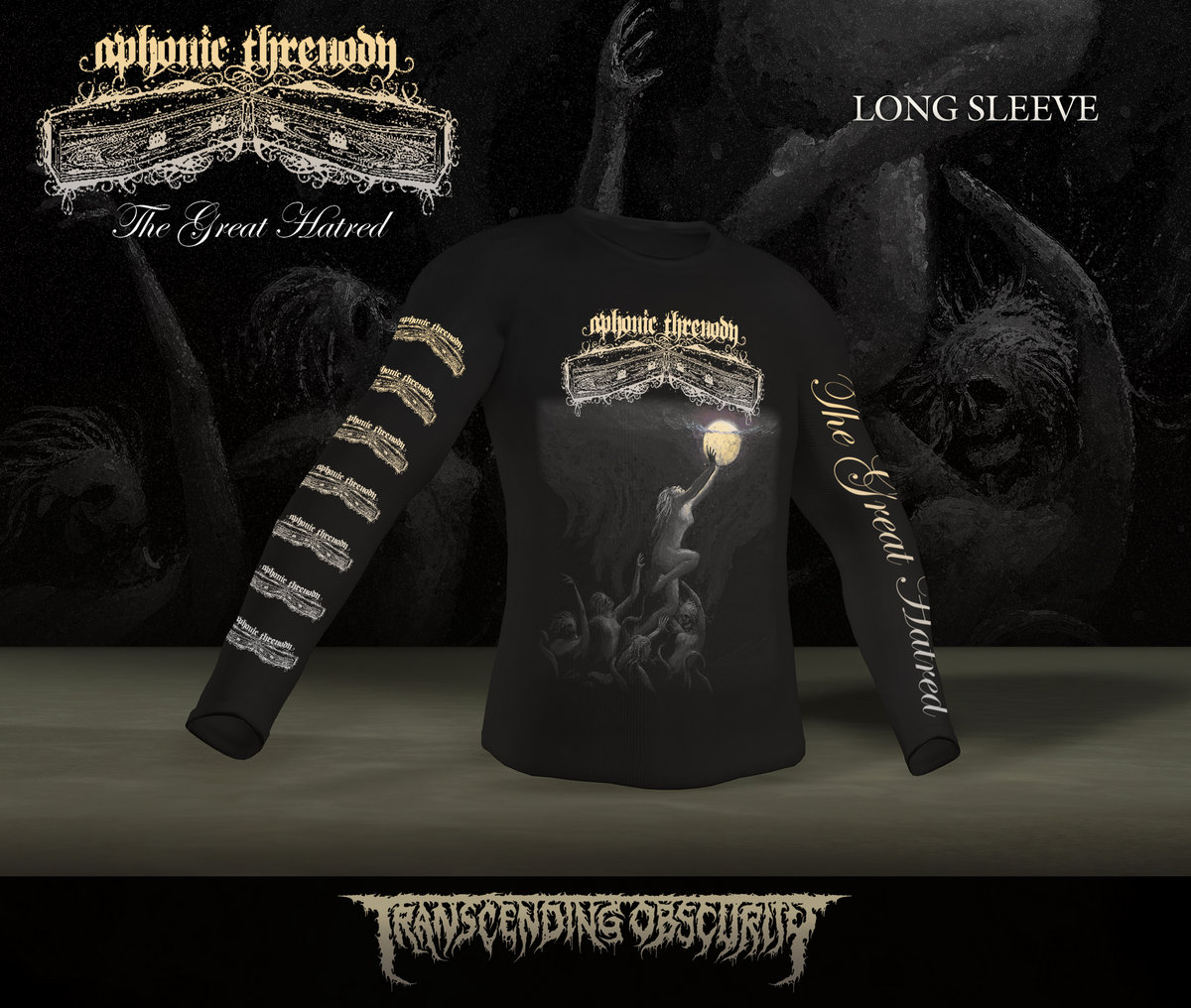 Aphonic Threnody Long sleeve T-shirt (Limited to 20)