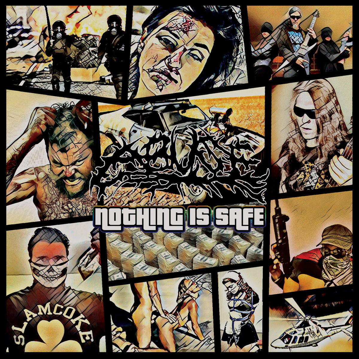 ABUSE - Nothing Is Safe - Jewel Case CD