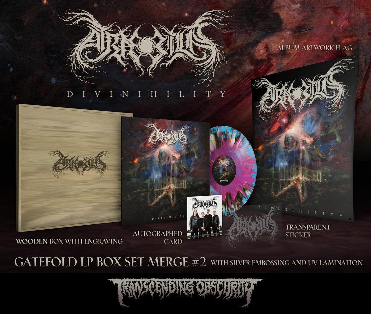ATRÆ BILIS Wooden LP Box Set with Logo Engraving (Limited to 20)