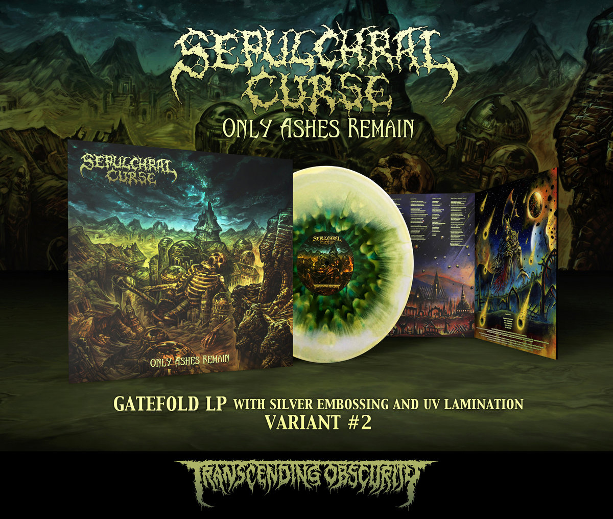 SEPULCHRAL CURSE Gatefold LP with Metallic Effect and UV Embossing (Limited to 80)