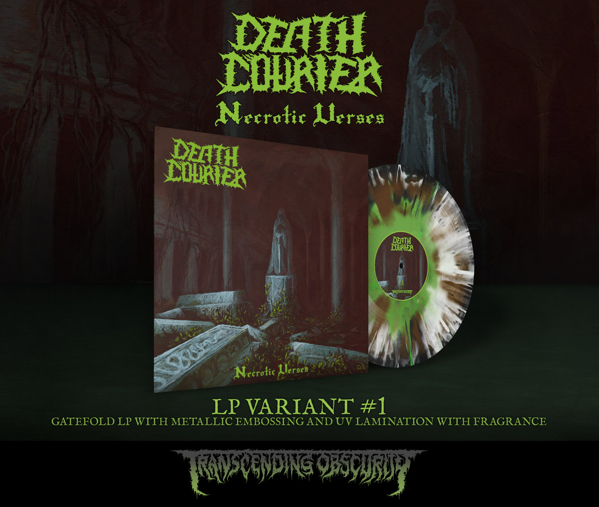 DEATH COURIER 3-LP Combo (All 3 LP Variants at a Discounted Price)
