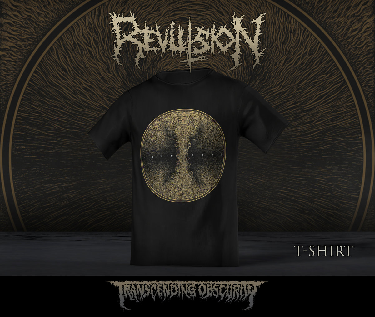 REVULSION Album Artwork T-shirt (Limited to 15)