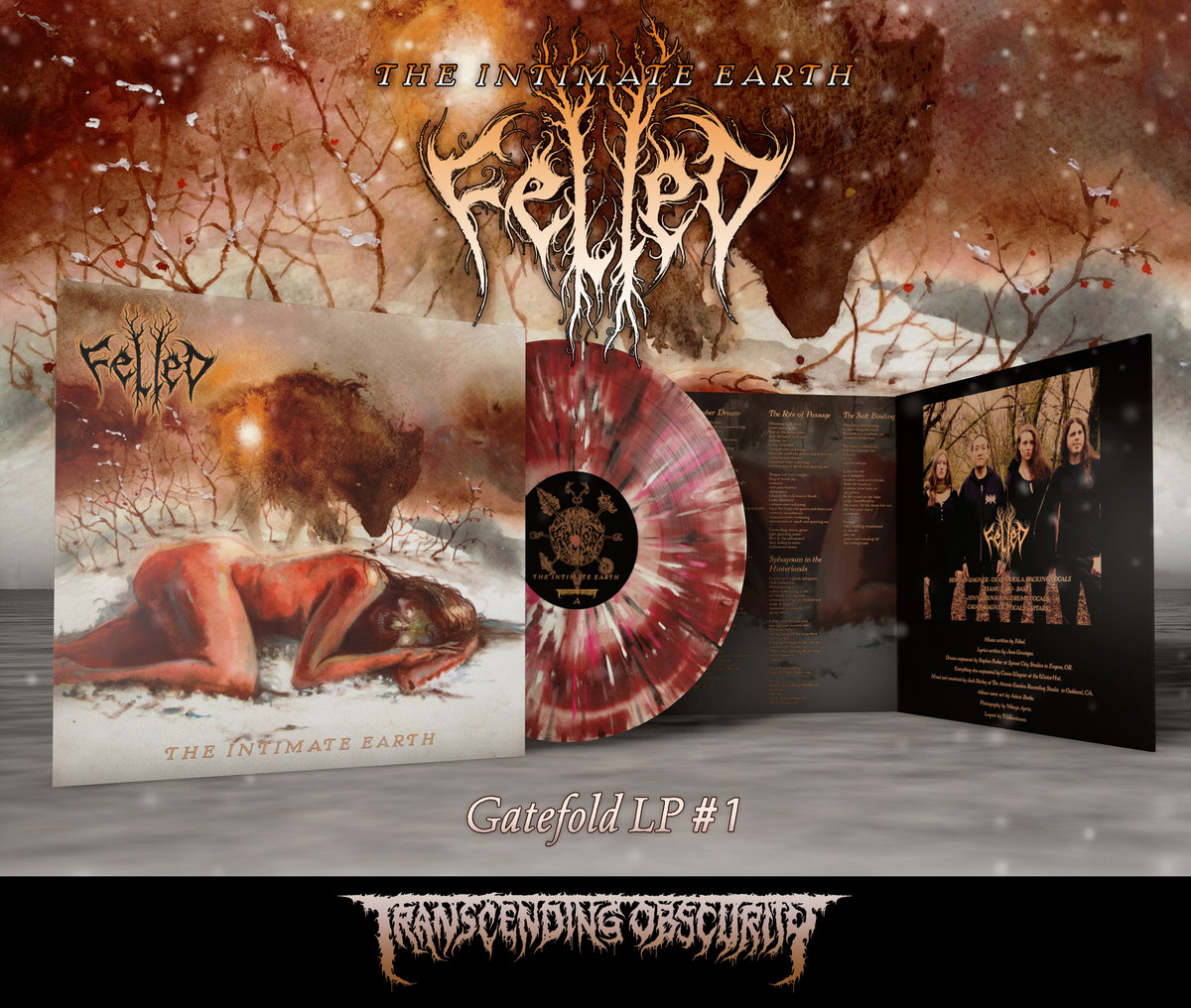 FELLED - The Intimate Earth Gatefold LP with Sandalwood Fragrance (Limited to 100 per variant)
