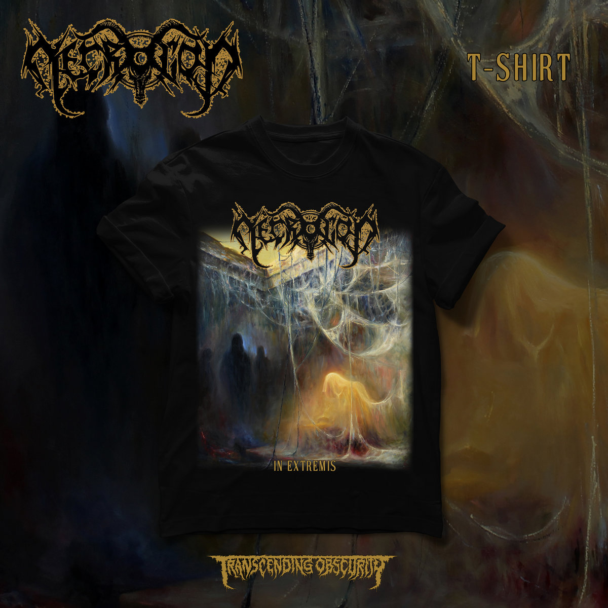 NECROGOD - In Extremis Extended Album Artwork T-shirt