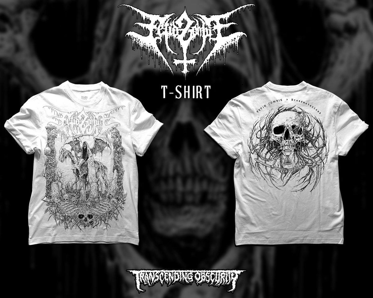 FETID ZOMBIE - Transmutations White T-shirt