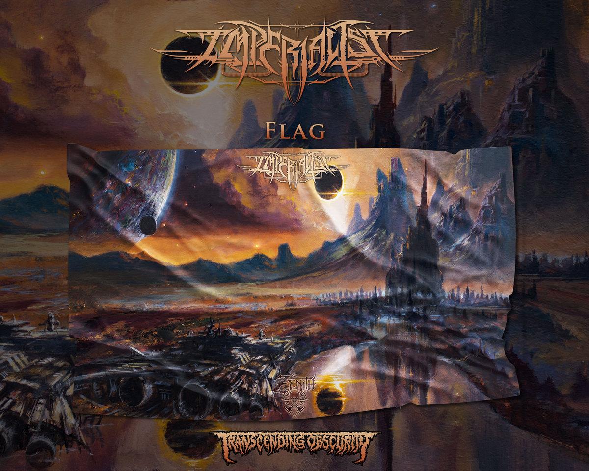 IMPERIALIST - Zenith Album Full Size Artwork Flag