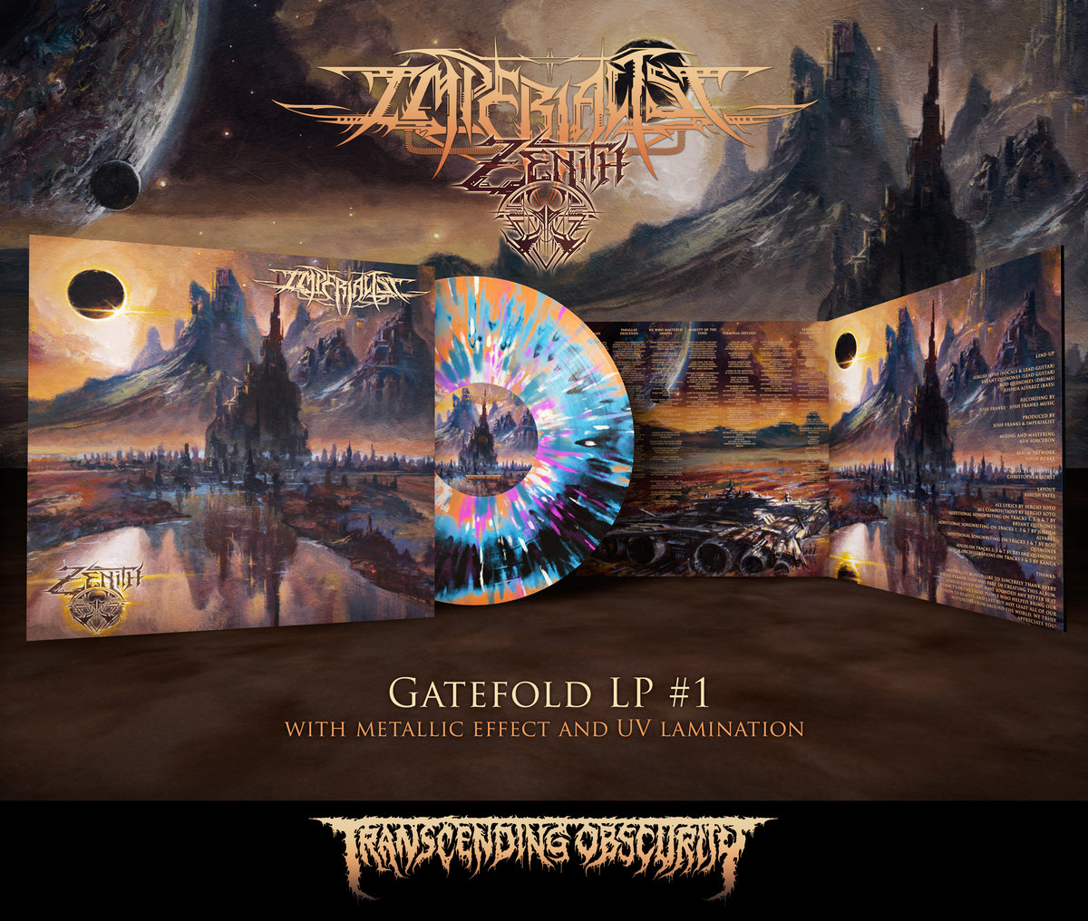 IMPERIALIST - Zenith LP with Metallic Effect and Embossing (Limited to 100 per variant)